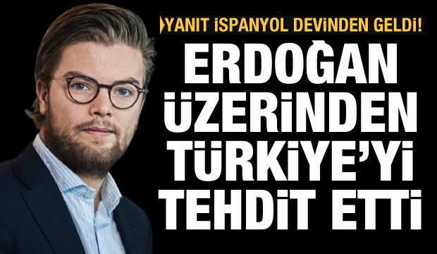 Cumhurbaşkanı Erdoğan üzerinden Türkiye'ye küstah tehdit! Yanıt BBVA'dan geldi