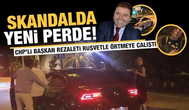 Alkollü kaza yapan CHP'li Başkan rezaleti örtmek için 300 bin TL rüşvet teklif etti