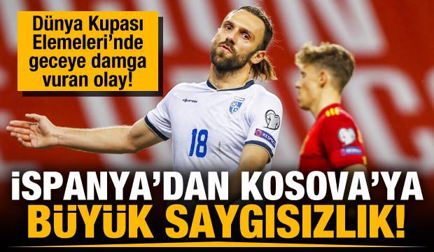 İspanya-Kosova maçında kriz!