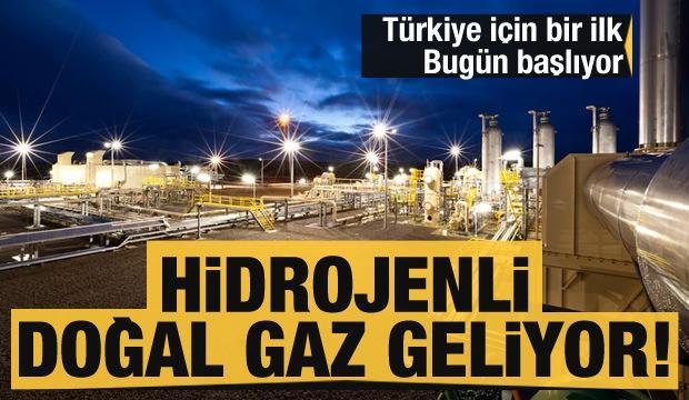 Türkiye için bir ilk! Bugün açılıyor: Hidrojenli doğal gaz geliyor!