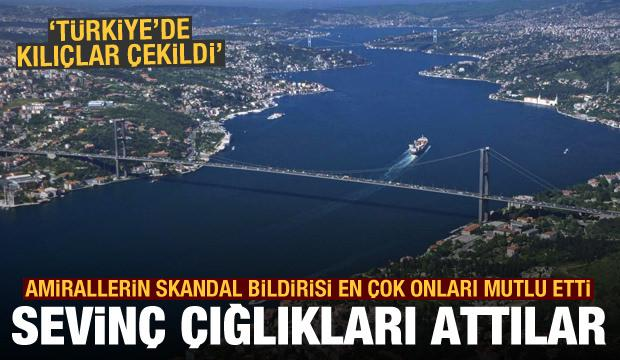 Amirallerin imalı bildirisi Yunan basınında: Türkiye'de cehennem, kılıçlar çekildi