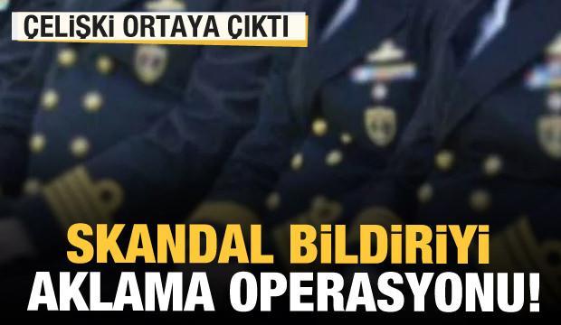 104 emekli amiralin skandal bildirisini savunanların çelişkisi ortaya çıktı