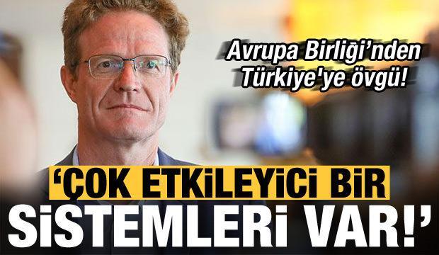 AB'den Türkiye'ye övgü: Çok etkileyici bir sağlık sistemi var!