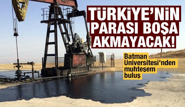 Batman Üniversitesi'nden muhteşem buluş! Türkiye'nin parası boşa akmayacak