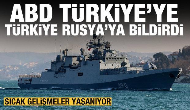 Bölgede tansiyon artıyor: ABD Türkiye'ye, Türkiye Rusya'ya bildirdi