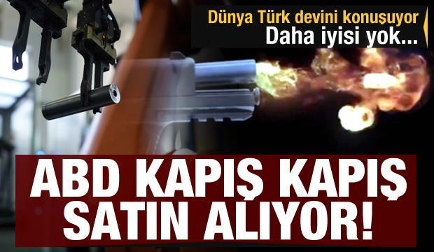 Dünya Türk silah devini konuşuyor! Daha iyisi yok, ABD kapış kapış satın alıyor