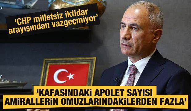 Efkan Ala: CHP milletsiz iktidar arayışından vazgeçmiyor