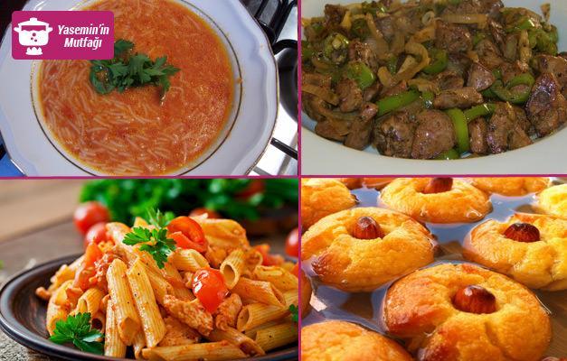 Ramazan ayının son gününe yakışır iftar menüsü...