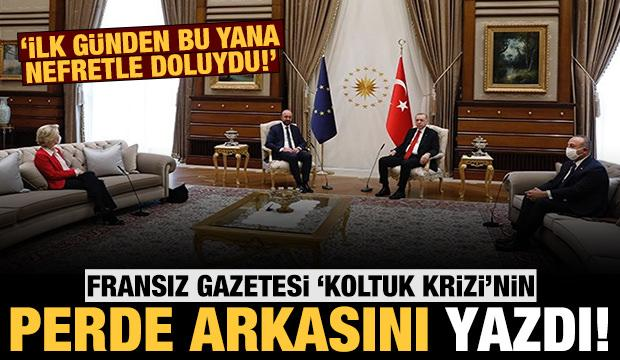 Fransız gazetesinden şaşırtan çıkış: Koltuk krizinde Türkiye mağdur edildi!