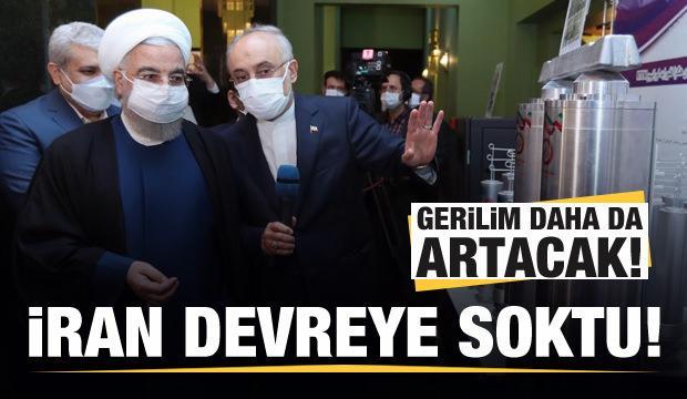 Gerilim daha da artacak! İran devreye soktu!
