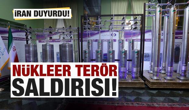 İran duyurdu! 'Nükleer terör' saldırısı