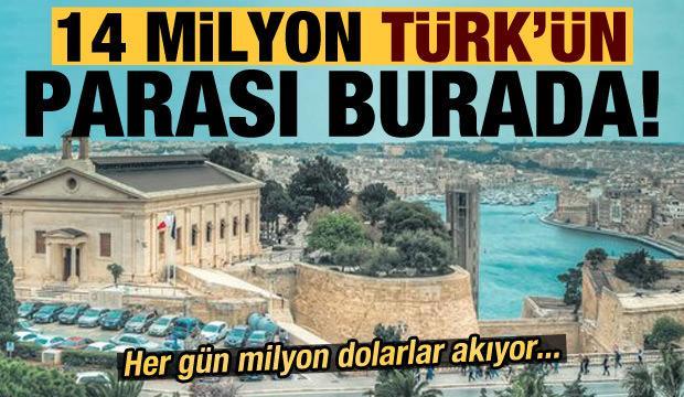 14 milyon Türk'ün parası burada! Her gün milyon dolarlar akıyor