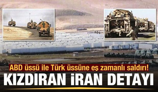 ABD üssü ile Türk üssüne eş zamanlı saldırı! Pes dedirten İran detayı
