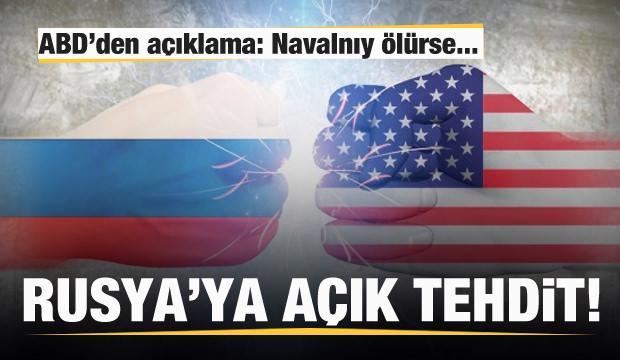 ABD'den Rusya'ya tehdit: Navalnıy ölürse...