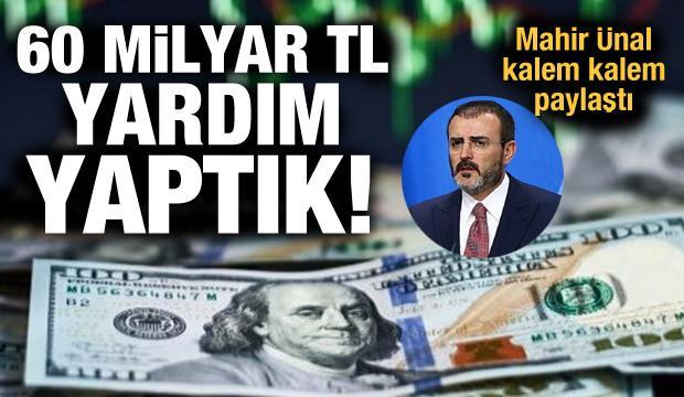 AK Parti Grup Başkanvekili Ünal: 128 milyar TL nerede? diye soranlara gelsin