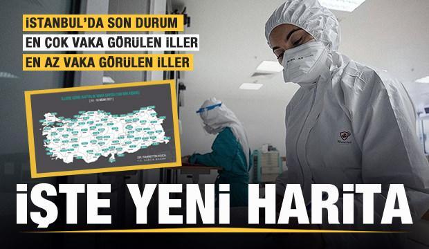 Bakan Koca yeni haritayı paylaştı! İstanbul'da korkunç artış! İşte il il son durum