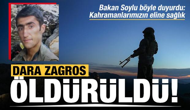 Biri 'turuncu' kategorideki PKK'lı 2 terörist öldürüldü
