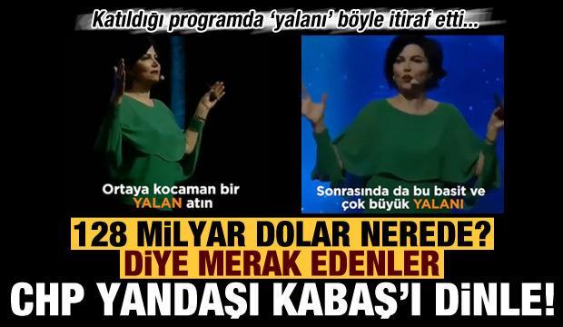 CHP yandaşı Sedef Kabaş'tan 'yalan' itirafı! 'Kitleleri yönlendirmek istiyorsanız...'