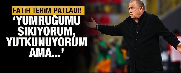 Fatih Terim: Galatasaraylılar için bir kez daha yutkunuyorum!