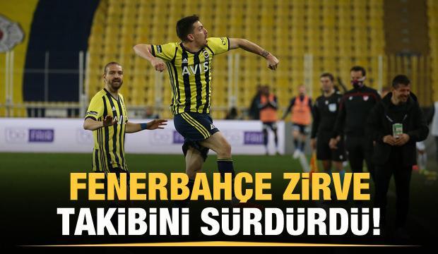 Fenerbahçe zirve takibini sürdürdü!