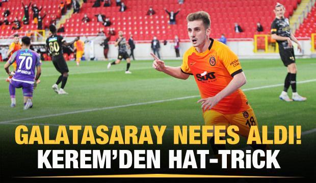 Galatasaray 3 maç sonra kazandı!