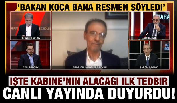 İşte Kabine'nin alacağı ilk tedbir: Ahmet Hakan, Bakan Koca'nın sözlerini duyurdu!