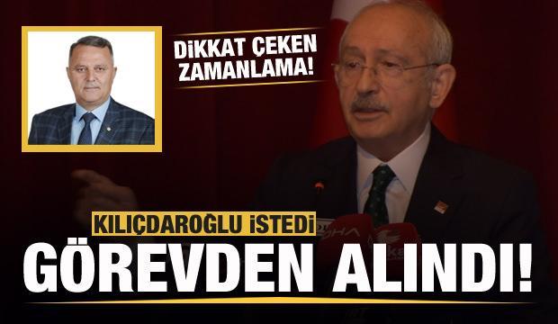 Kılıçdaroğlu istedi, İl başkanı görevden alındı