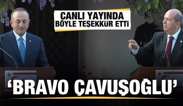 KKTC Cumhurbaşkanı Tatar: Bravo Çavuşoğlu...