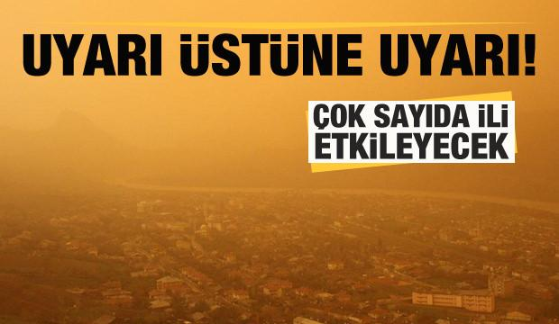 Meteoroloji'den son dakika uyarısı: İstanbul dahil çok sayıda ili etkileyecek