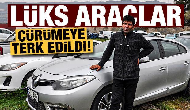 Milyonlarca lira değerindeki araçlar Yediemin otoparkında çürüyor!