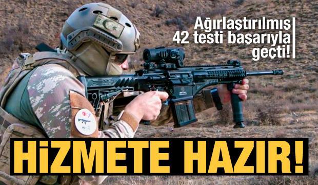 Milli Piyade Tüfeği 'MPT-76-MH' tüm testleri başarıyla geçti!