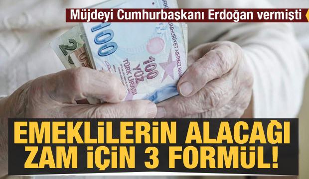 Müjdeyi Cumhurbaşkanı Erdoğan vermişti! İşte 'emekli ikramiyeleri' için 3 formül