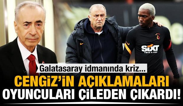 Mustafa Cengiz'in sözleri sonrası futbolculardan ilk tepki!