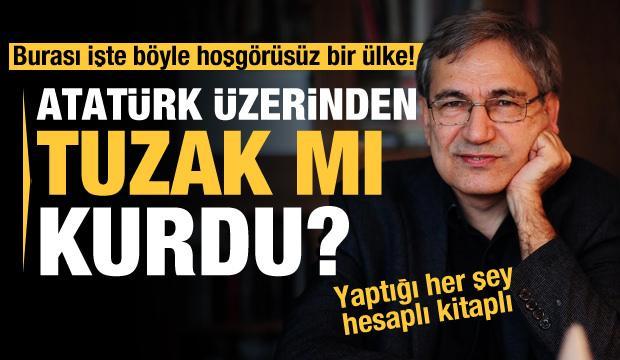 """Orhan Pamuk """"Veba Geceleri'nde"""" Atatürk ile alay mı etti? Ne yapmaya çalışıyor?"""