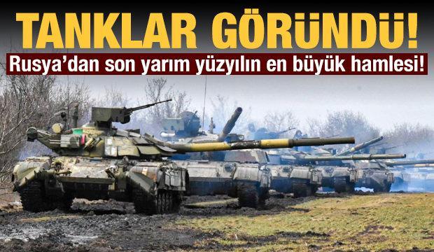 Rus ordusu harekete geçti! Son yarım yüzyılın en büyük hamlesi...
