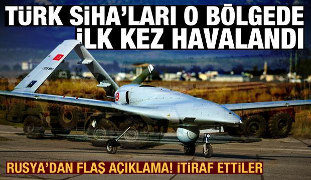 Rusya'dan açıklama: Türk SİHA'larının Donbass'ta uçmasından mutlu değiliz
