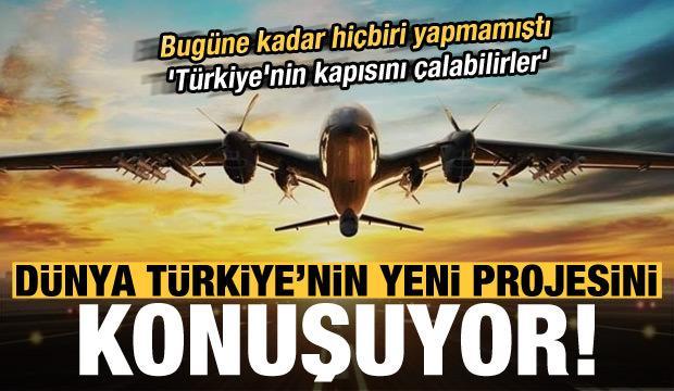 Son dakika: Dünya bu projeyi konuşuyor! 'Türkiye'nin kapısını çalabilirler'