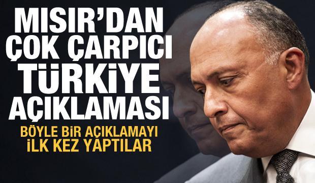 Son dakika haberi: Mısır'dan çok çarpıcı Türkiye açıklaması