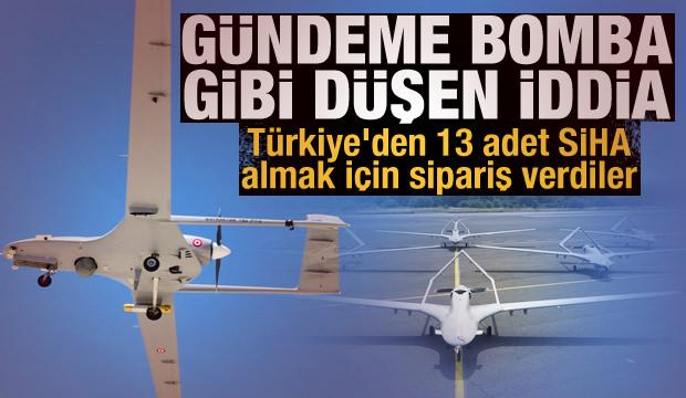 Türkiye'den 13 adet Bayraktar TB2 SİHA'sı almak için sipariş verdiler