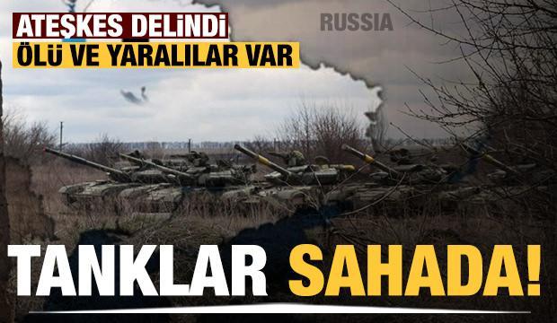 Ukrayna-Rusya sınırındaki askeri hareketlilik