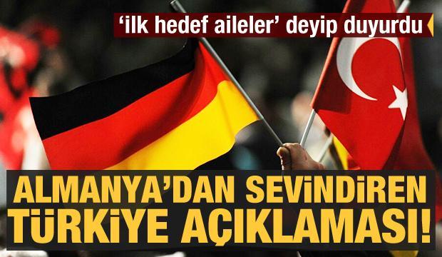 Almanya'dan kritik Türkiye açıklaması! İlk hedef aileler