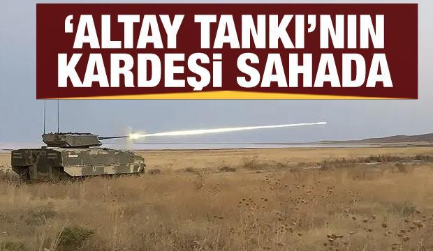 Altay Tankının kardeşi TULPAR göz dolduruyor
