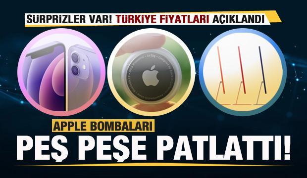 Apple bombaları peş peşe patlattı! Büyük sürpriz