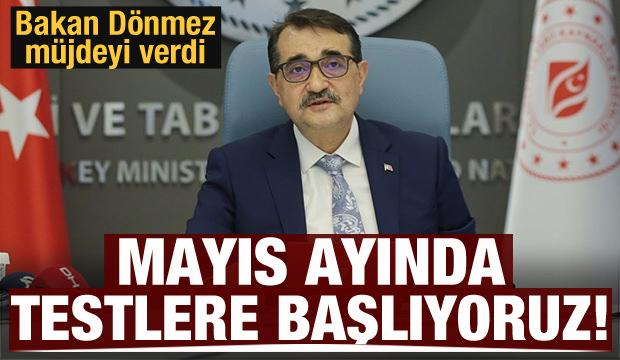 Bakan Dönmez: Kuyu testlerine Türkali-2'den başlayacağız