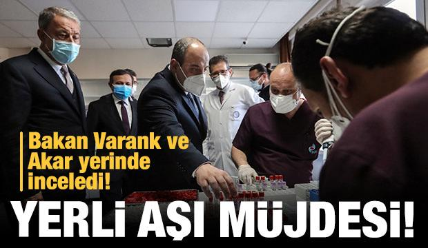 Bakan Varank'tan yerli aşı açıklaması!