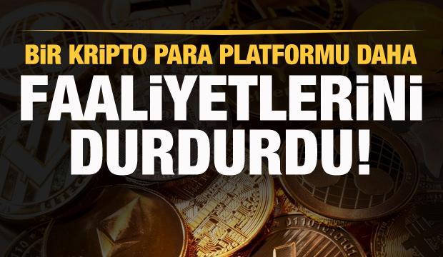 Bir kripto para borsası daha kapandı! Vebitcoin'den açıklama!