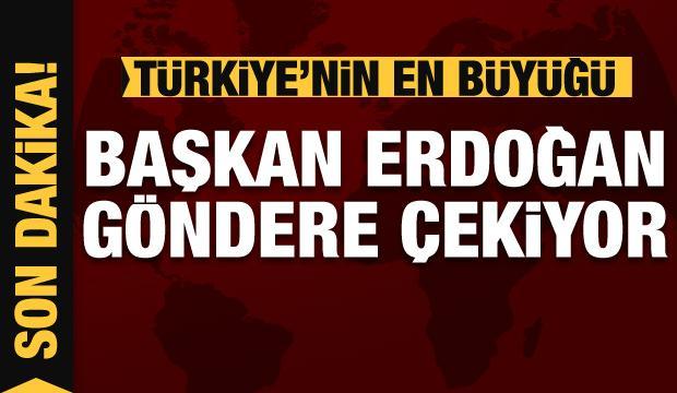 Dev Türk bayrağı göndere çekildi!