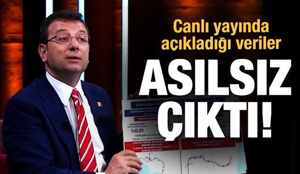 İmamoğlu'nun canlı yayında açıkladığı metro verileri asılsız çıktı!