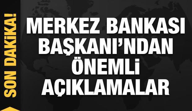 Merkez Bankası Başkanı Kavcıoğlu'ndan önemli açıklamalar