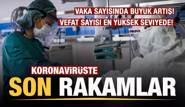 Son dakika: 20 Nisan koronavirüs tablosu! Vaka, Hasta, ölü sayısı ve son durum açıklandı